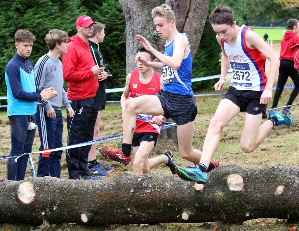 Log jump